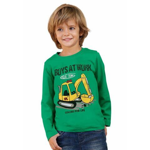 CFL Shirt met lange mouwen en graafmachinemotief