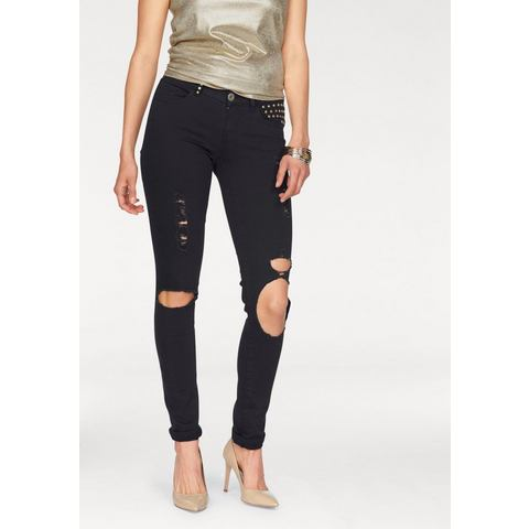 MELROSE Destroyed-jeans met grote gaten
