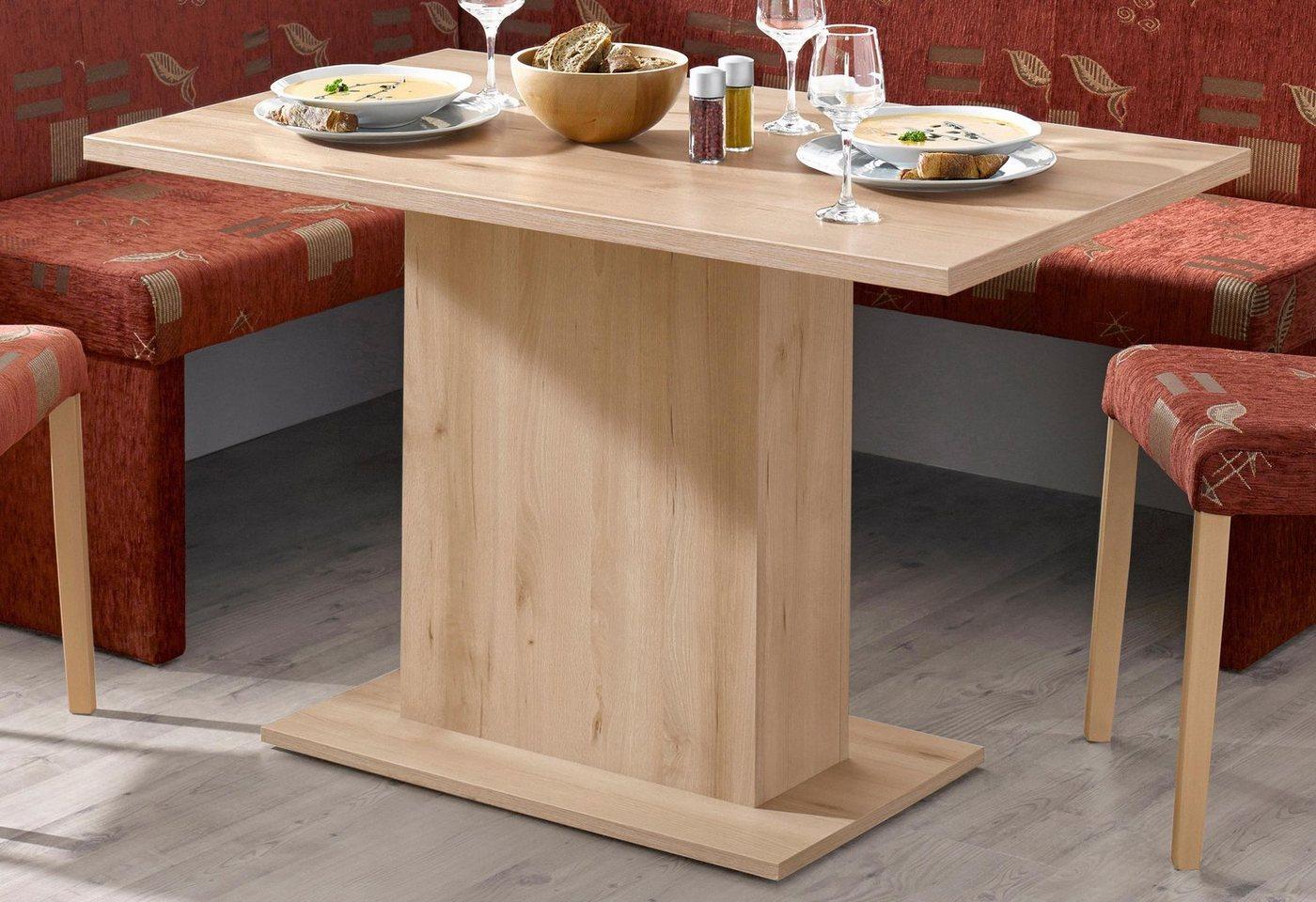 Eettafel met zuil, breedte 68 cm