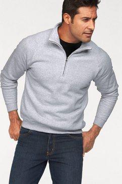 fruit of the loom sweatshirt met schipperskraag grijs
