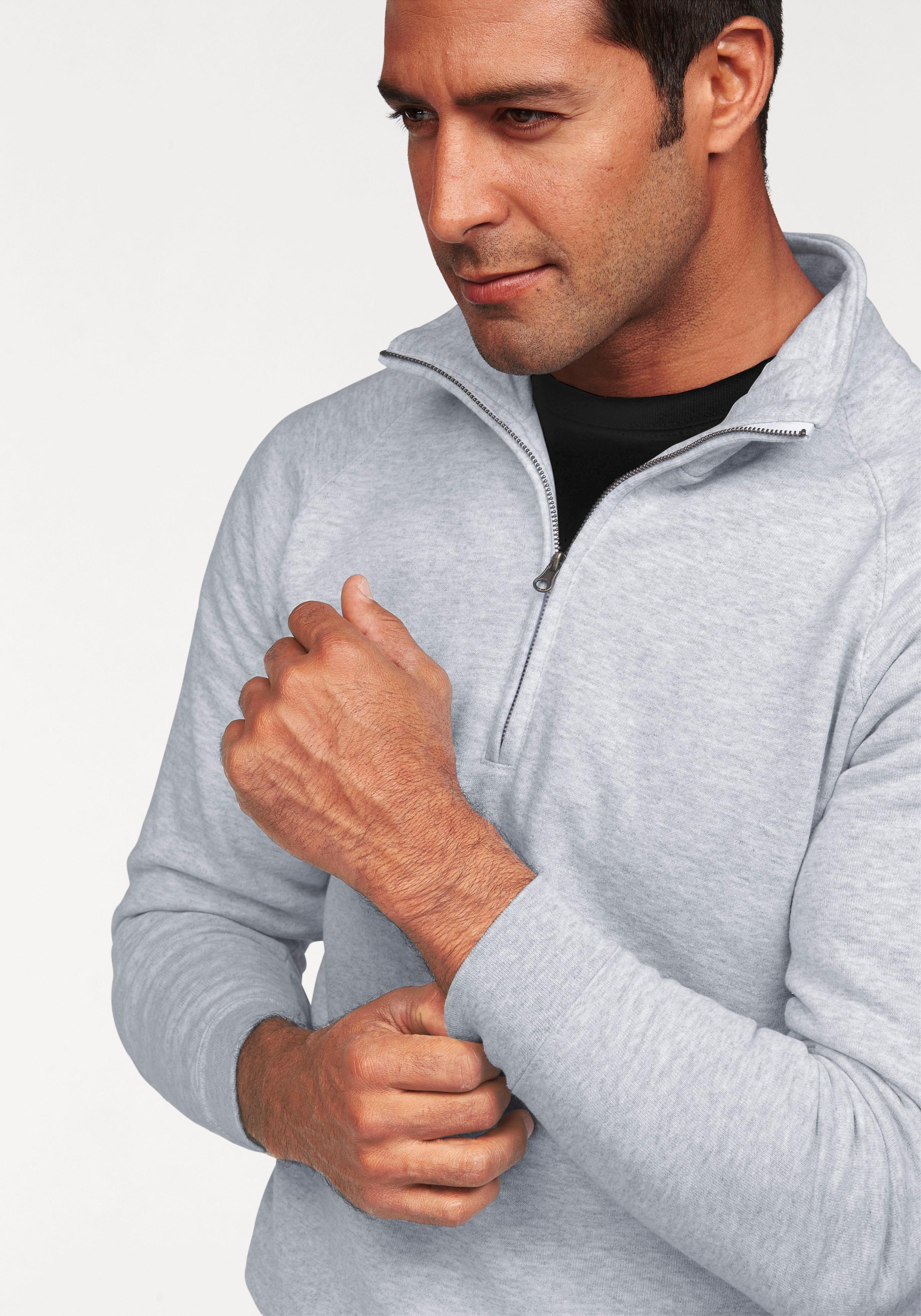 FRUIT OF THE LOOM Sweatshirt met schipperskraag online shop