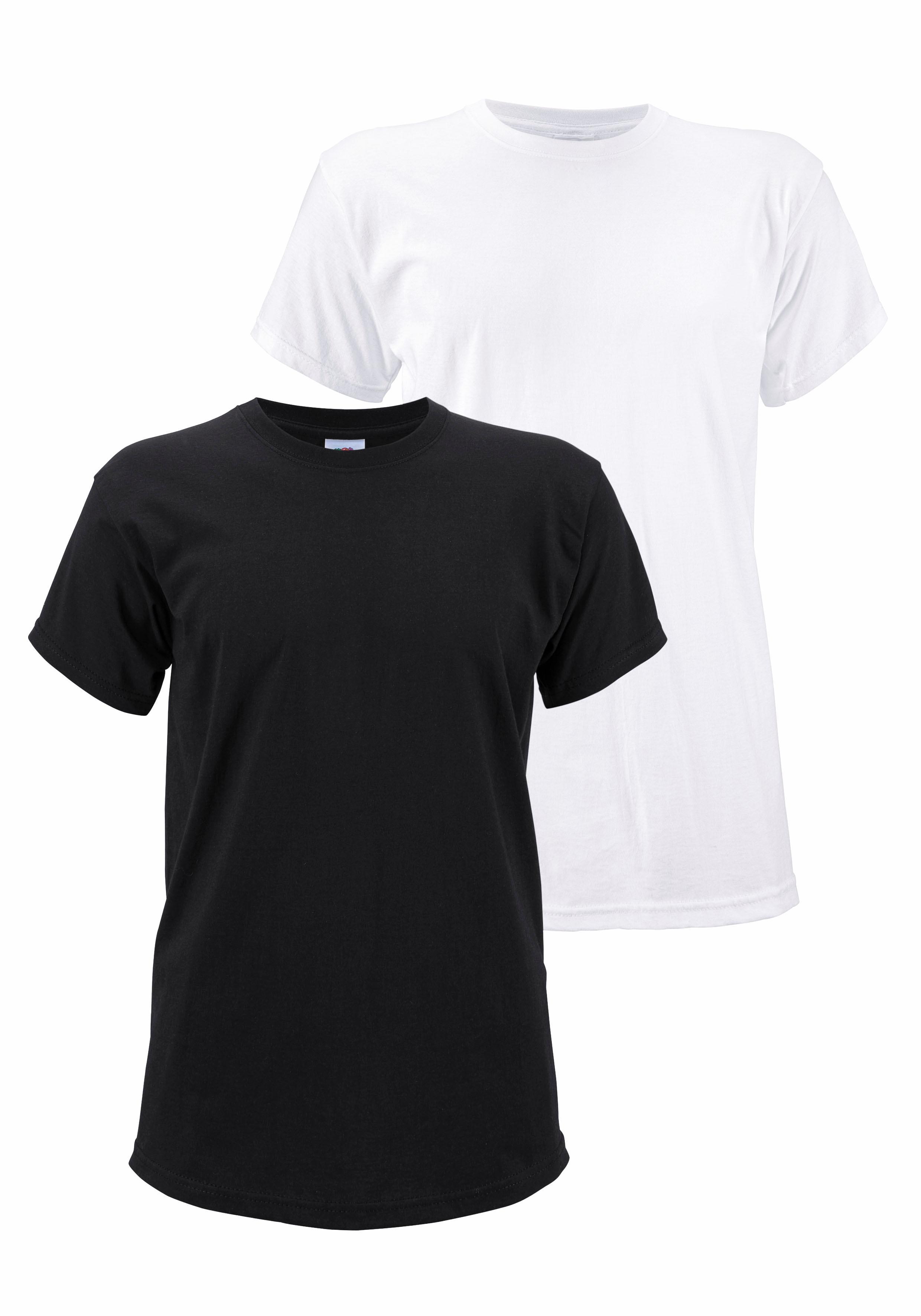 Fruit of the Loom T-shirt, set van 2 - verschillende betaalmethodes