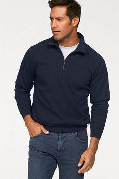 fruit of the loom sweatshirt met schipperskraag blauw