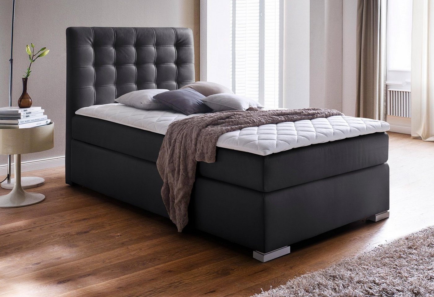 MEISE Boxspring met stiksels