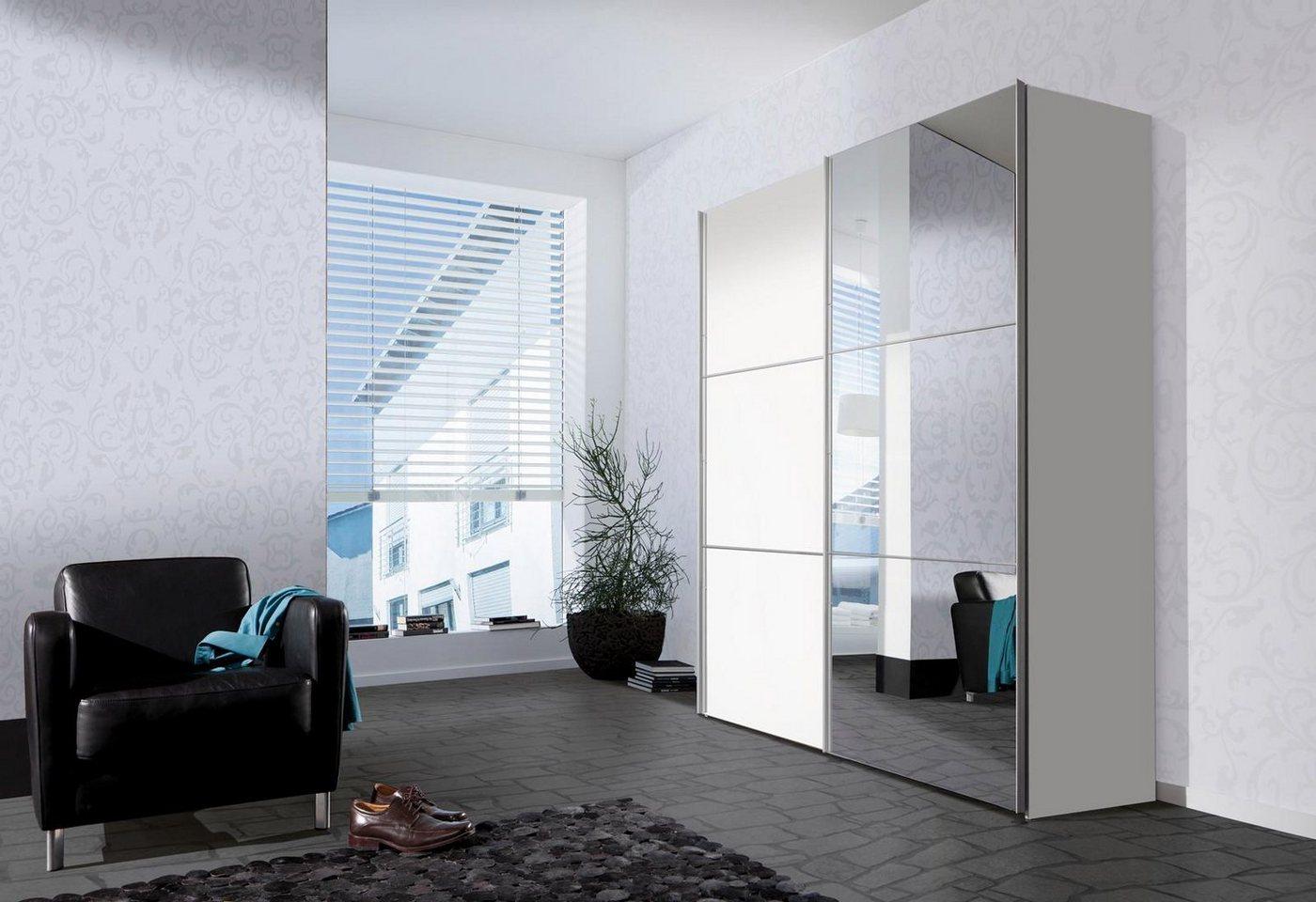 Express Solutions zweefdeurkast met spiegel