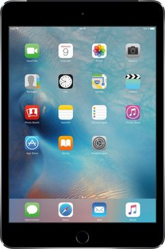 iPad mini 4 Cellular 128 GB APPLE SIM tablet, iOS 9,A8, 20,1 cm (7,9 inch)