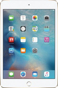 iPad mini 4 Cellular 128 GB APPLE SIM tablet, iOS 9,A8, 20,1 cm (7,9 inch)