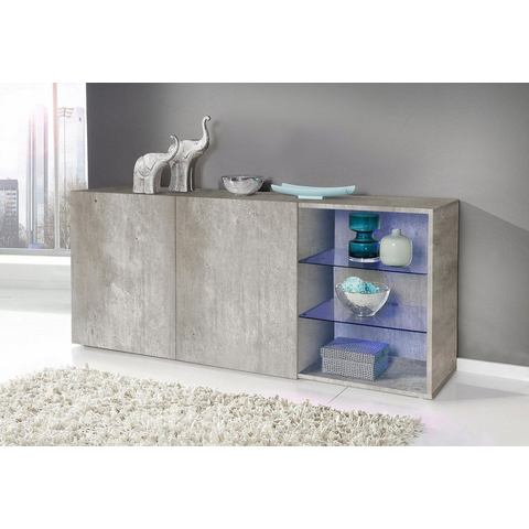 Dressoirs Sideboard met 2 glasplateaus 705864