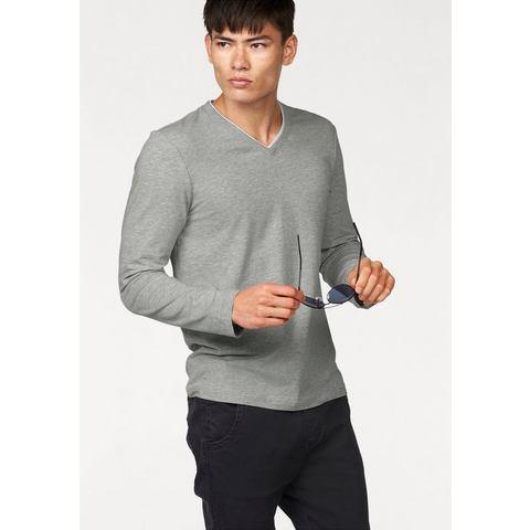 JOHN DEVIN Shirt met lange mouwen en V-hals