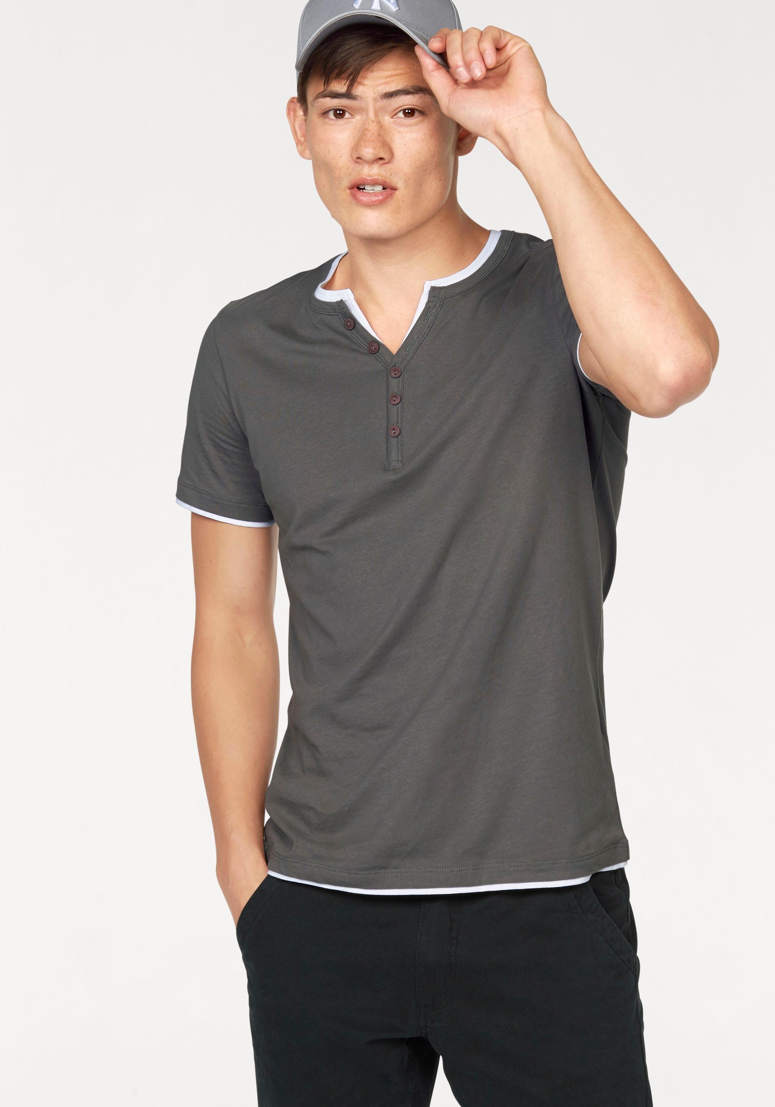 John Devin Shirt in layer-look en smal model online kopen op otto.nl