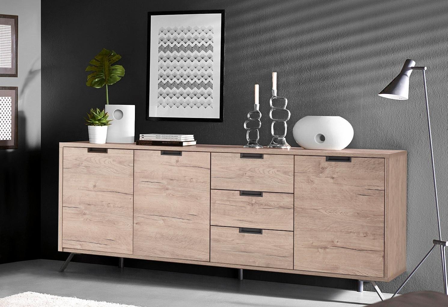 LC dressoir Palma breedte 206 cm nu online kopen bij OTTO