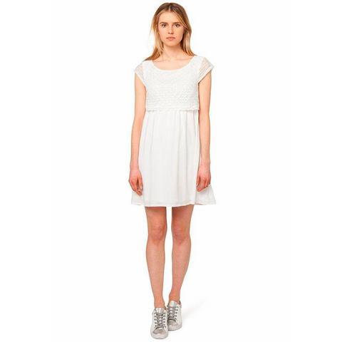 Picture TOM TAILOR DENIM kanten jurk beige 387348