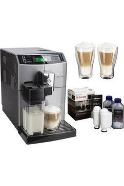 volautomatisch koffiezetapparaat Minuto HD8867/11, met melkkan, zilverkleur