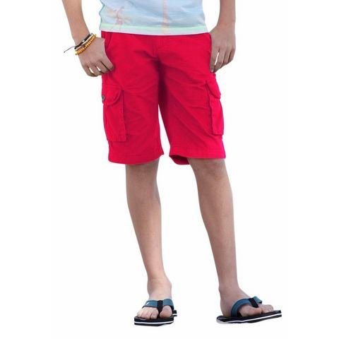CFL Bermuda met riem voor jongens