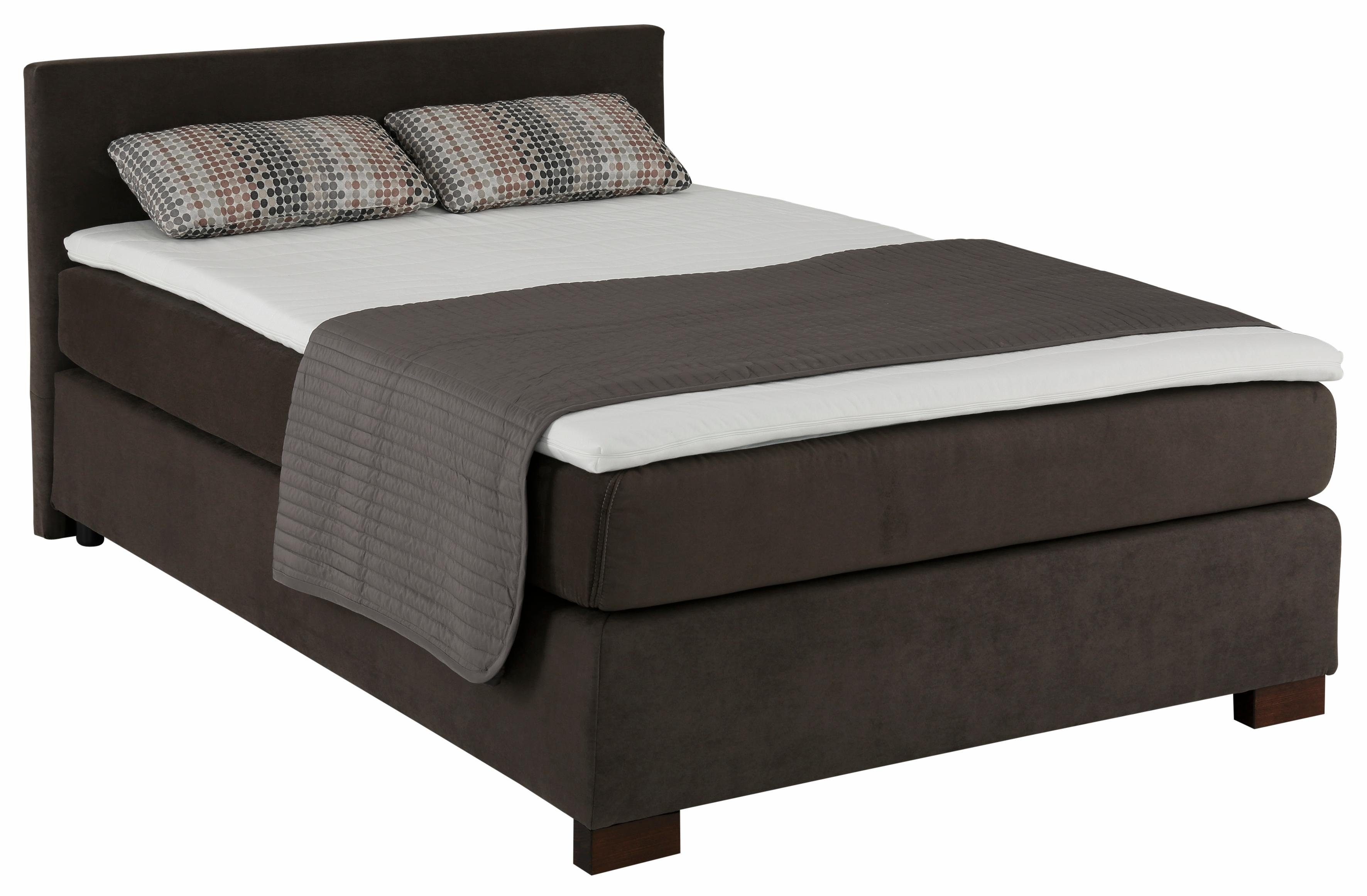 topmatras 90x200 boxspring incl topmatras en kussens grijs with topmatras 90x200 trendy. Black Bedroom Furniture Sets. Home Design Ideas