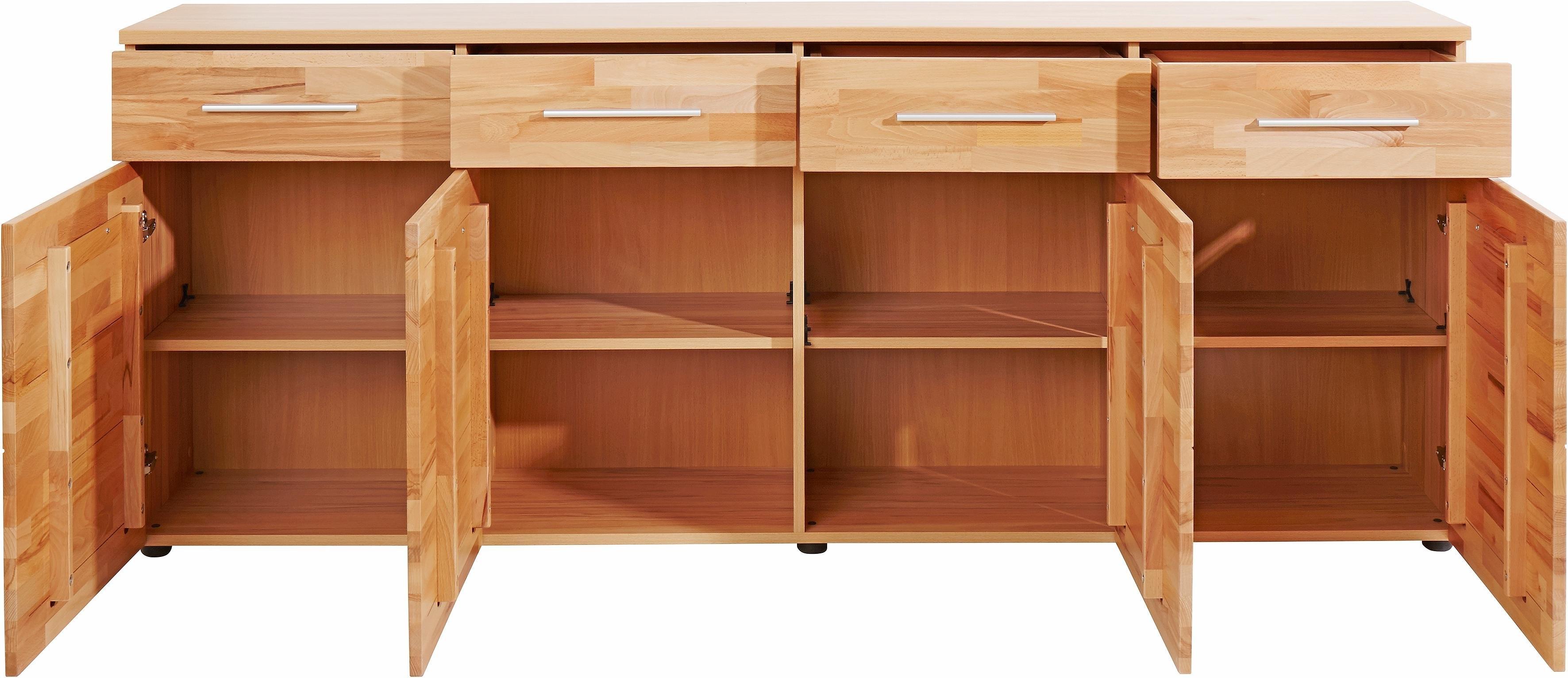 sideboard breedte 200 cm bestel nu bij otto. Black Bedroom Furniture Sets. Home Design Ideas