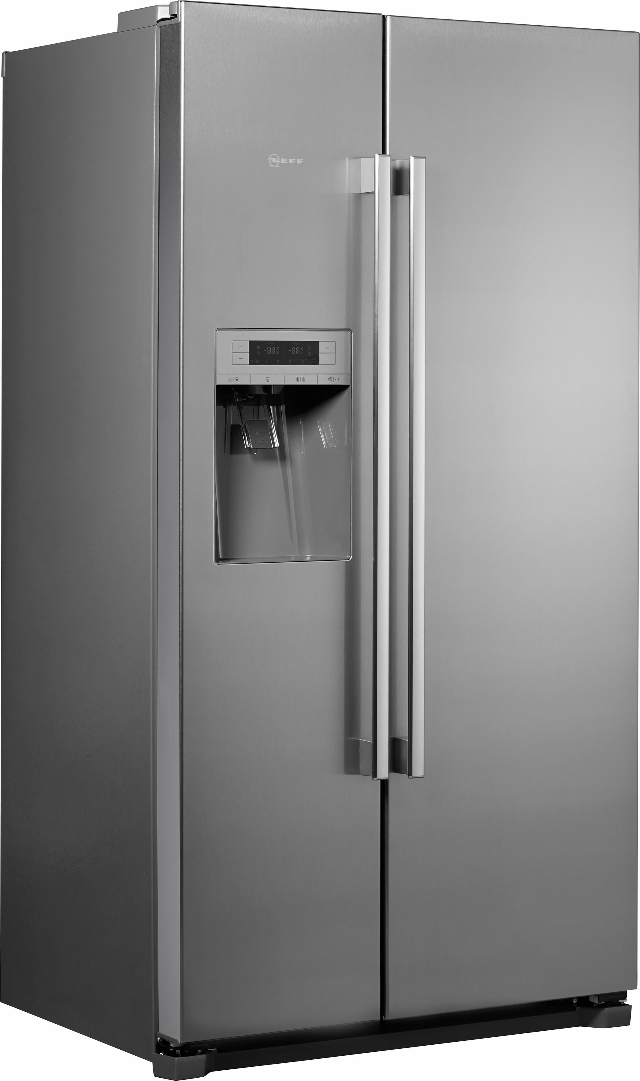 Neff side-by-side koelkast KA3902I20, A+, 177 cm hoog, No Frost in de webshop van OTTO kopen