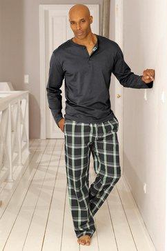h.i.s pyjama lang grijs
