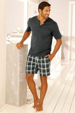 h.i.s pyjama kort grijs