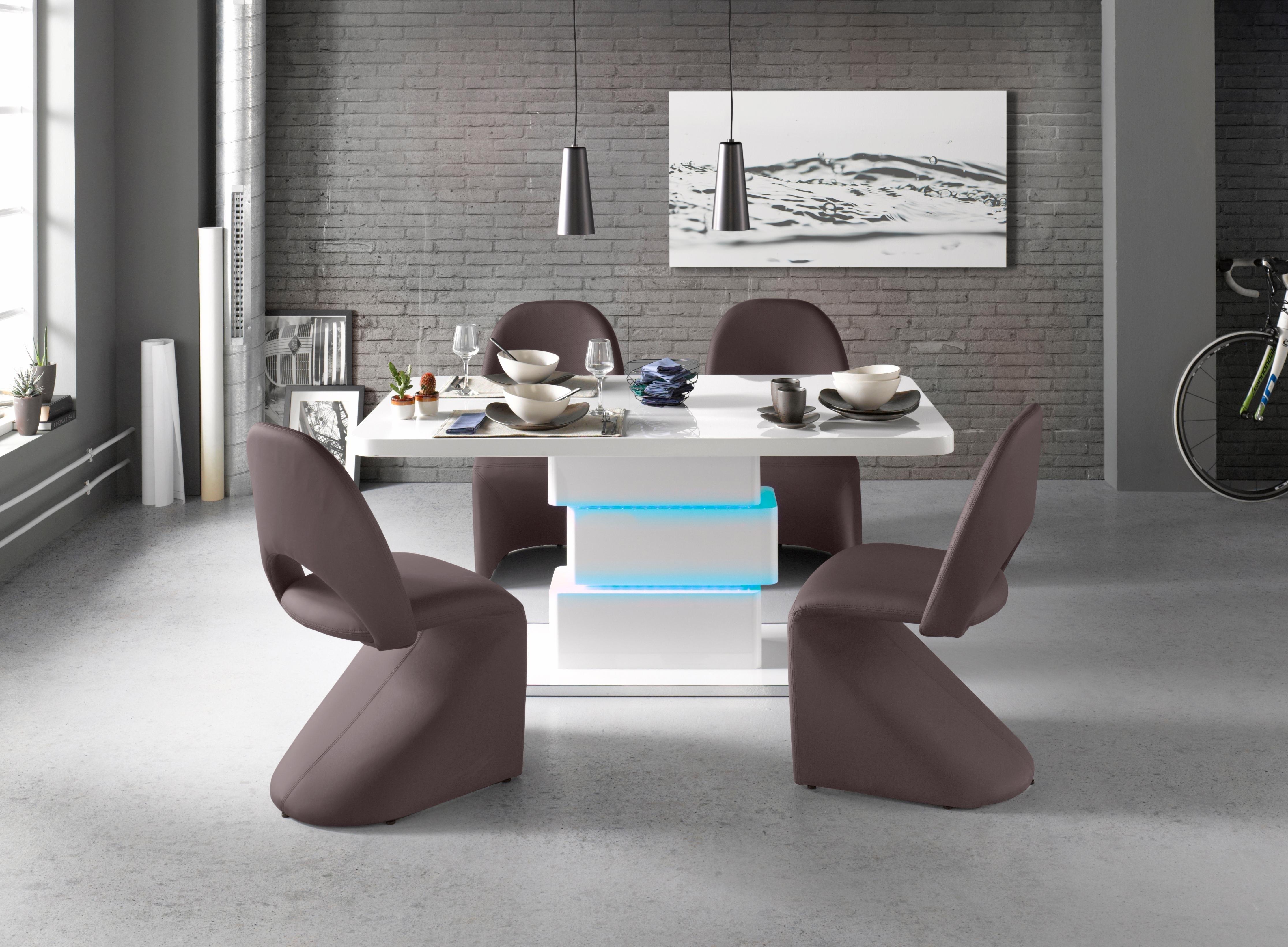 Homexperts Vrijdragende stoel (set van 2) in de webshop van OTTO kopen
