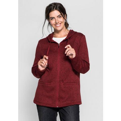 NU 20% KORTING: SHEEGO CASUAL tricot-fleecevest