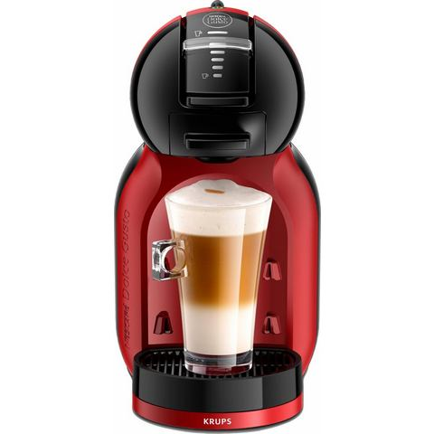 Krups NESCAFÉ® Dolce Gusto® Koffiecapsulemachine Mini Me KP120H , cherry rood-zwart
