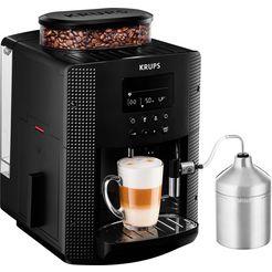 krups volautomatisch koffiezetapparaat essential espresso ea8160 zwart