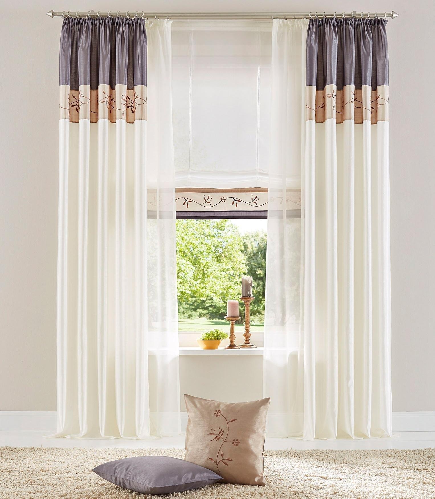 my home Vouwgordijn, »Sorel«, met klittenband (per stuk) bestellen: 30 dagen bedenktijd