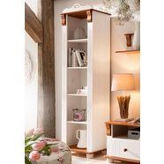 home affaire boekenkast »adele«, hoogte 185 cm wit