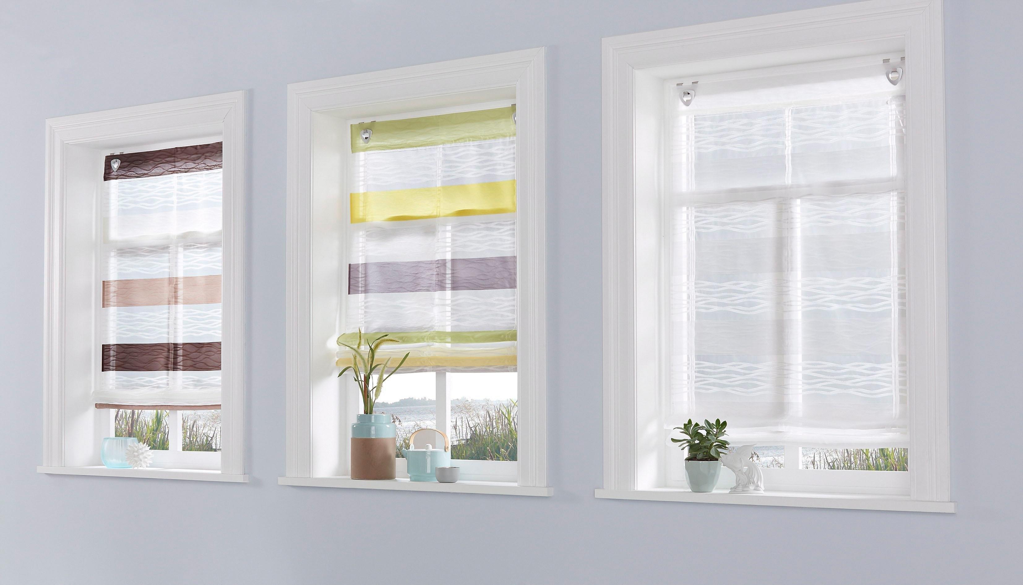 vouwgordijn home wohnideen basento bestellen bij otto. Black Bedroom Furniture Sets. Home Design Ideas