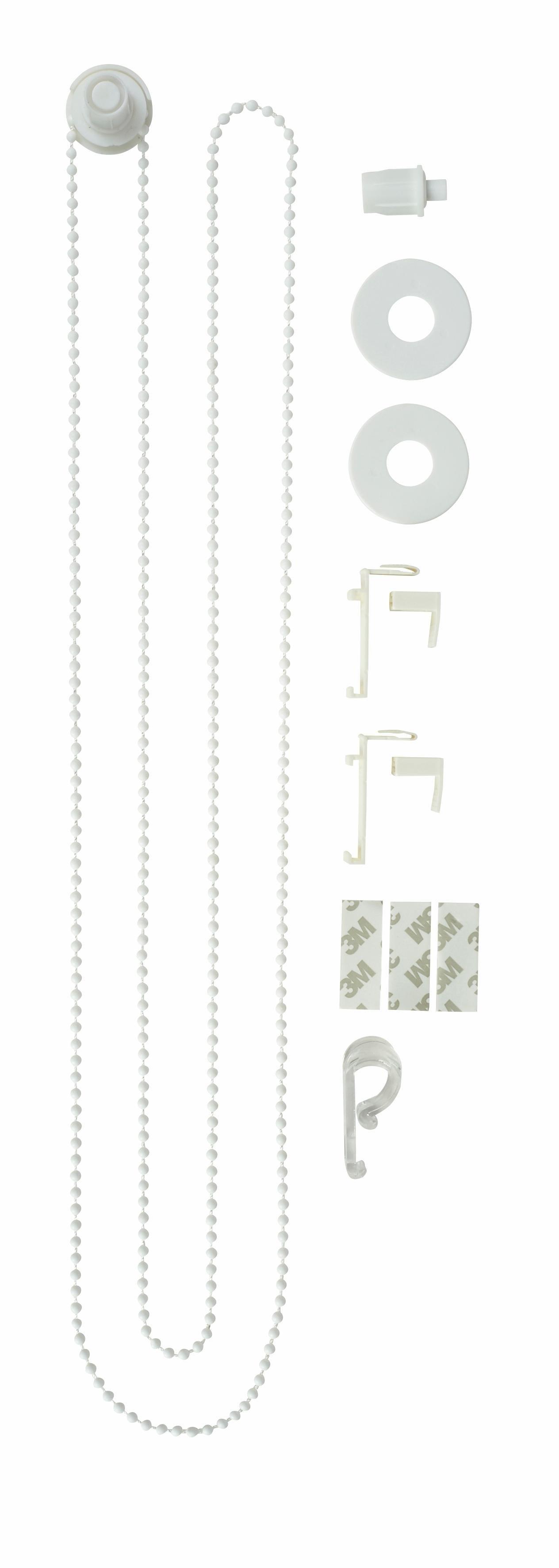 my home Extra onderdelenset voor rolgordijn dat beschermt tegen inkijk Montagemateriaal-set voor dubbel rolgordijn (set) - verschillende betaalmethodes