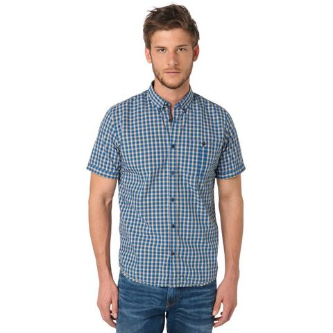 NU 15% KORTING: TOM TAILOR Hemd »floyd casual check shirt«