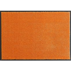mat, hanse home, »deko soft«, wasbaar, getuft oranje
