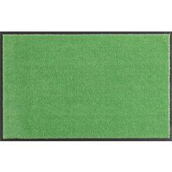 hanse home mat deco soft borstelmatten, voetmatten, inloopmatten, inloopmat, schoonloopmatten, inloopmat, deurmat, deurmat, absorberend, wasbaar groen