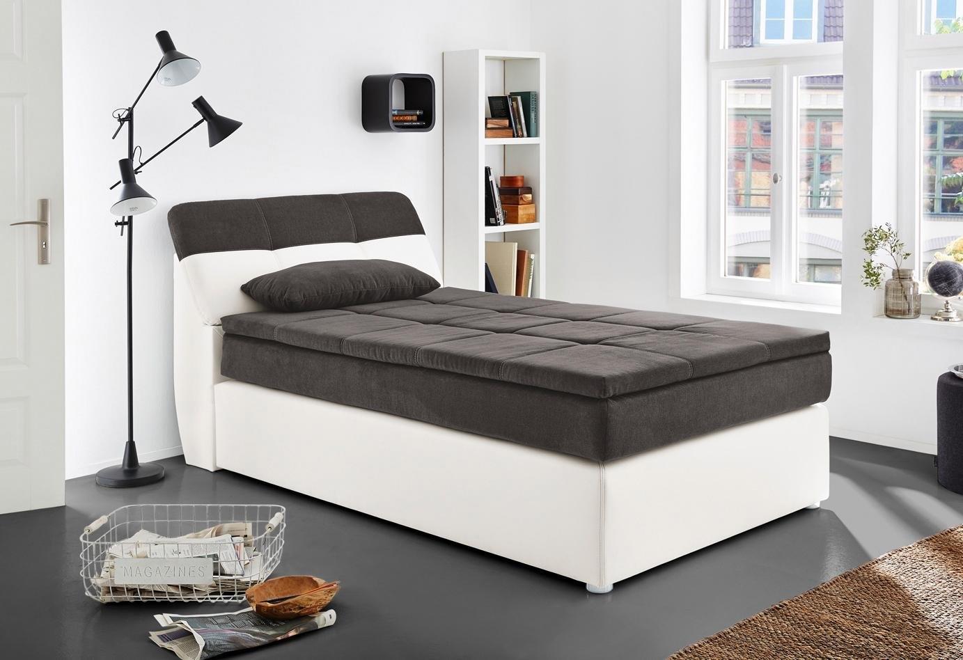 boxspring incl topmatras en kussen in de online shop otto. Black Bedroom Furniture Sets. Home Design Ideas