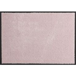 mat, hanse home, »deko soft«, wasbaar, getuft roze