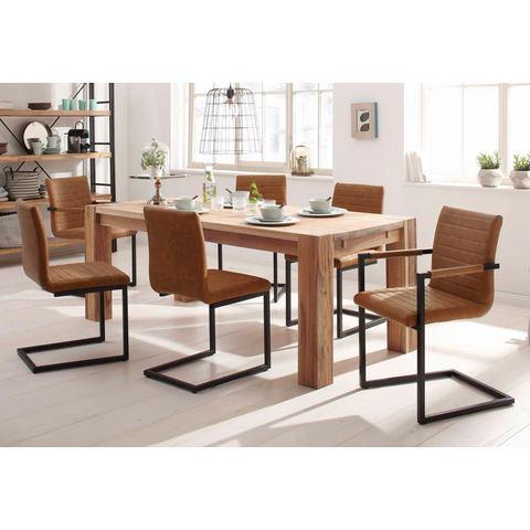 HOME AFFAIRE Eettafel Model 1 wildeiken/geolied