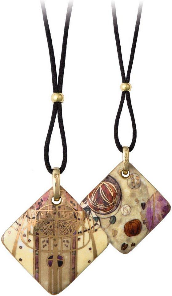 GOEBEL ketting met hanger met Swarovski®-kristal »Samenkomst 66999111«