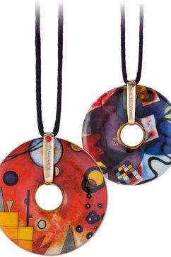 goebel ketting met hanger met swarovski-kristal, »zwaar rood, 66989641« multicolor