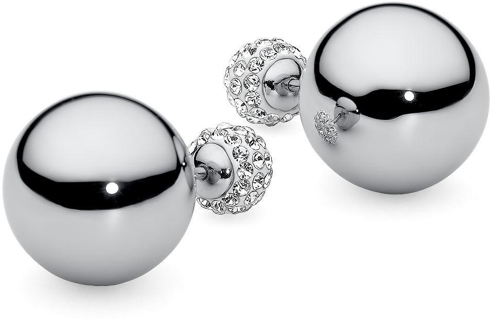 QUDO oorstekers met glassteentjes »Asti 301480«