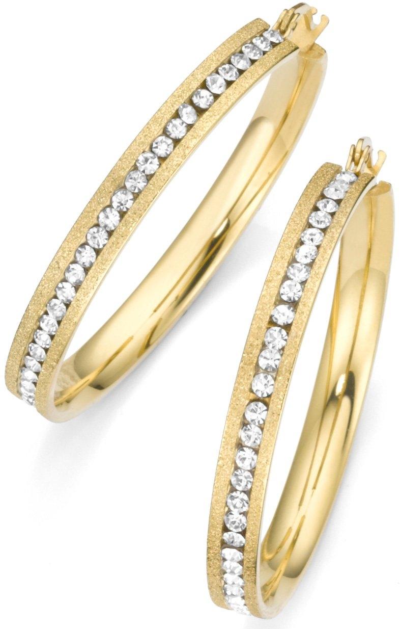 Firetti oorringen »Goudkleur, gestructureerd« in de webshop van OTTO kopen