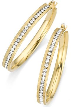 firetti oorringen met kristallen goud