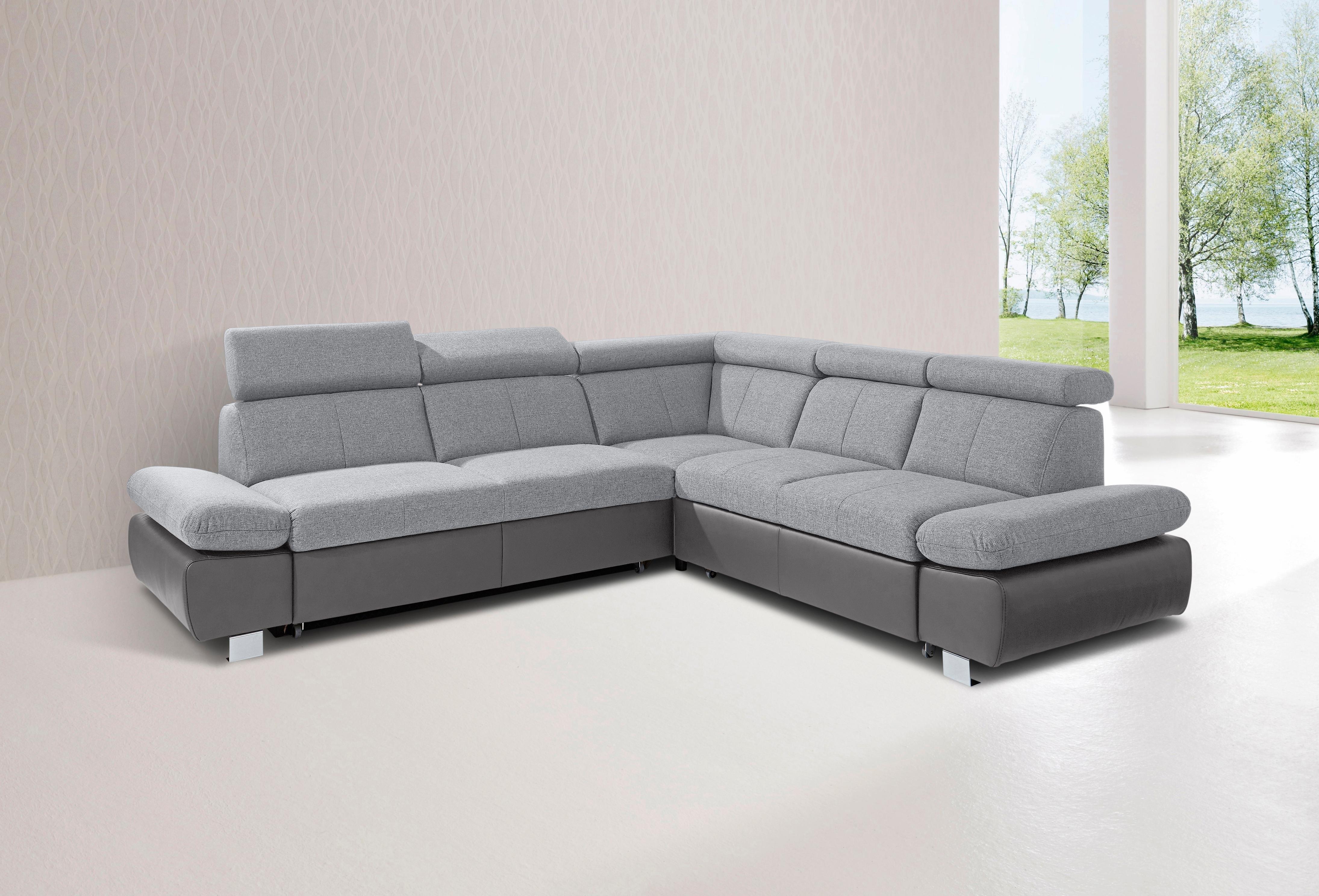 Exxpo - Sofa Fashion GALA COLLEZIONE hoekbank, met lange zijde en naar keuze met slaapfunctie bestellen: 30 dagen bedenktijd