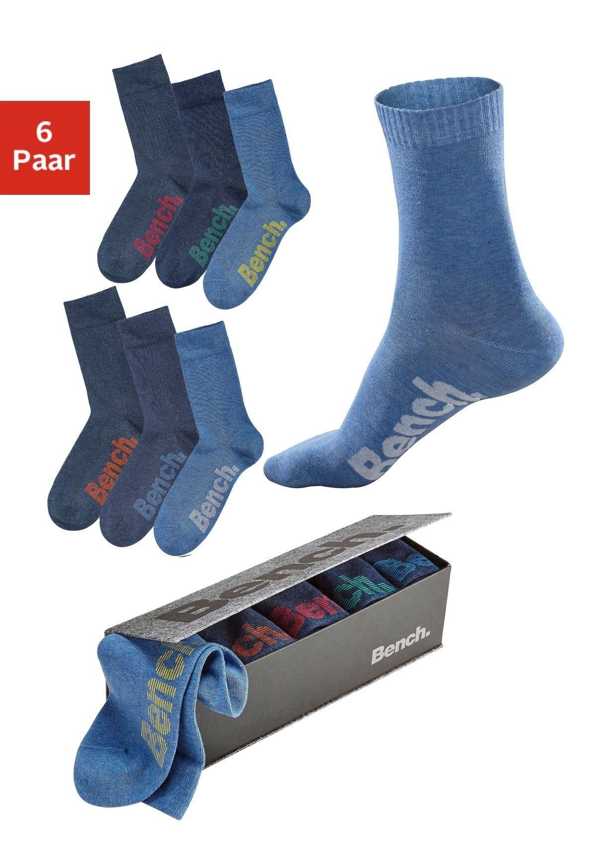 Bench. sokken (set van 6 paar) - verschillende betaalmethodes