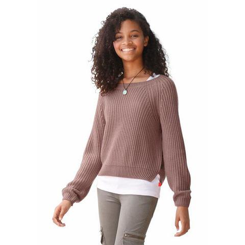 ARIZONA trui met zijsplitten, voor meisjes