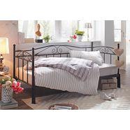 home affaire daybed »birgit«, met tweede, uittrekbaar ligoppervlak zwart