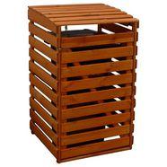 promadino kliko-ombouw voor 1x240 l van hout, bxdxh: 67x90x122 cm bruin