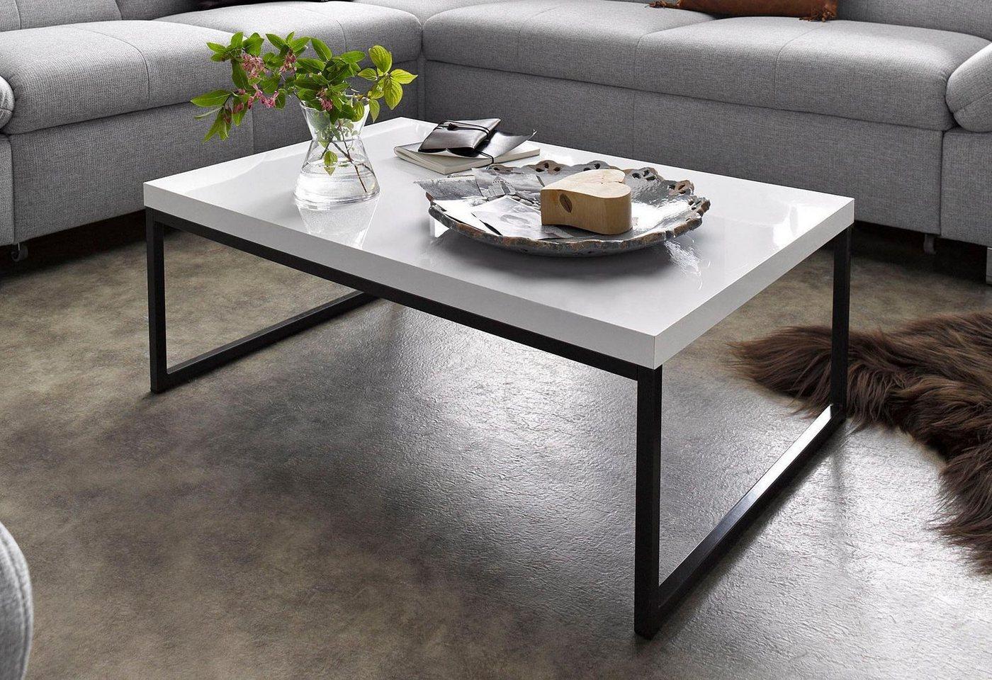 Moderne hoogglans-salontafel