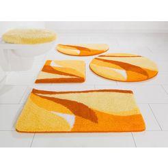 badmat »magnus«, my home, hoogte 20 mm, sneldrogend slijtvast geel