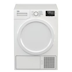 beko warmtepompdroger ds7333px0 wit